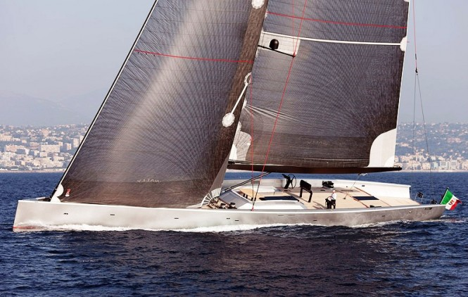 Wally 130 Sailing yacht Angel's Share - Credit Wally Yachts