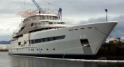 71m Expedition Superyacht PEGASO - The image of PEGASO is courtesy of Mr Miguel Tarrago.