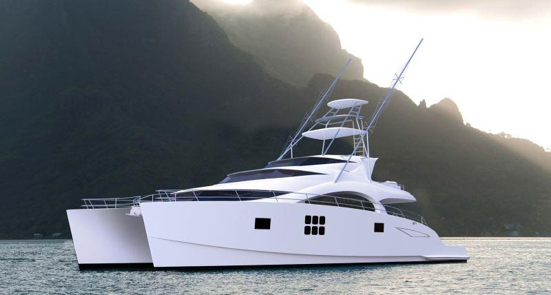 75 Sunreef Power Sport Fish Catamaran