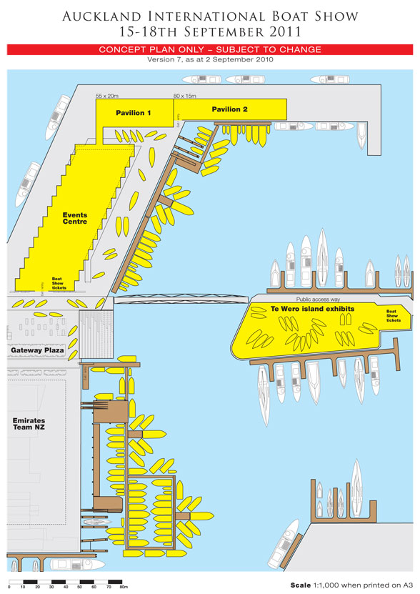 International Boat Show Concept Plan - Credit Auckland International