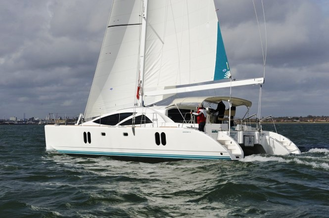 The Catalina 355 won the Domestic Boat of the Year award, and the Discovery ...