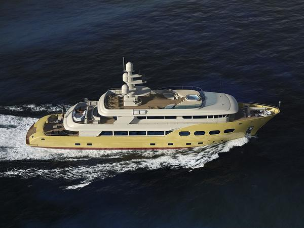 Profile of motor yacht Explorer 44 by Eurocraft
