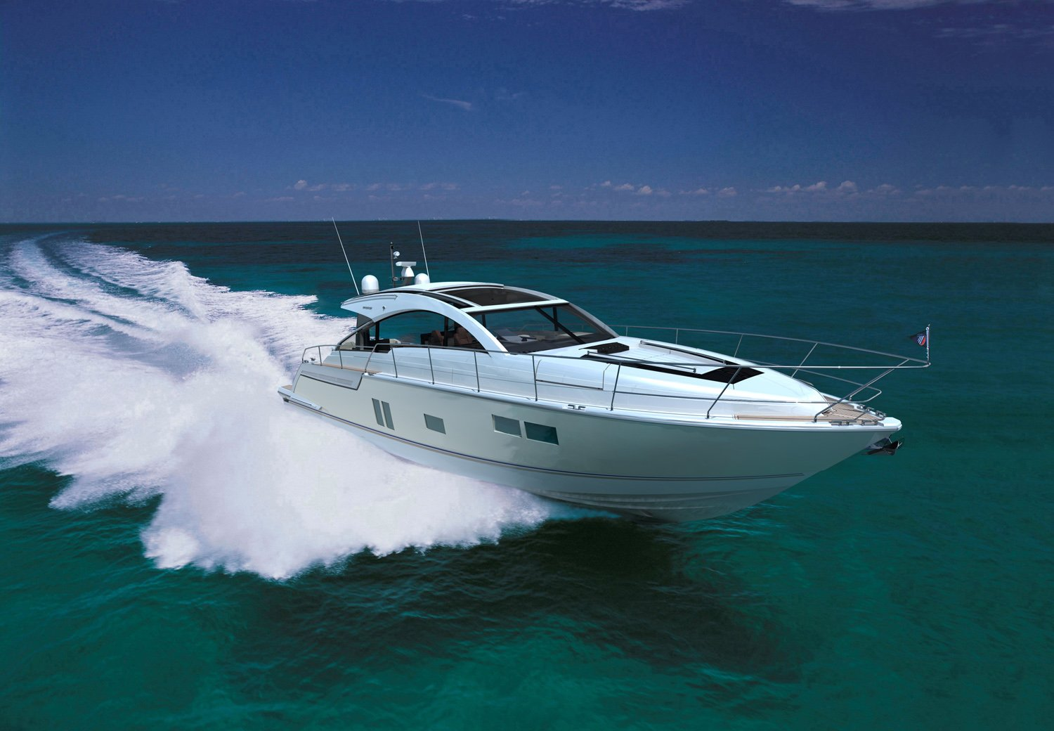 Fairline Targa 58 Gran Turismo continues on 1st boat show tour ...