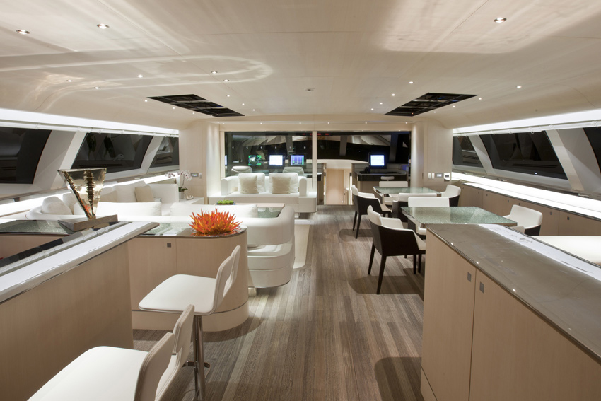 Fitzroy Sailing Yacht Zefira Interior By Remi Tessier