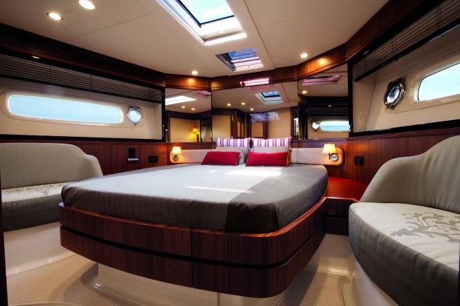 Motor yacht Magellano 50 VIP Cabin - Credit Azimut Yachts