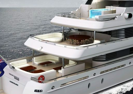 Motor yacht Newcastle 5500 Exterior Levels