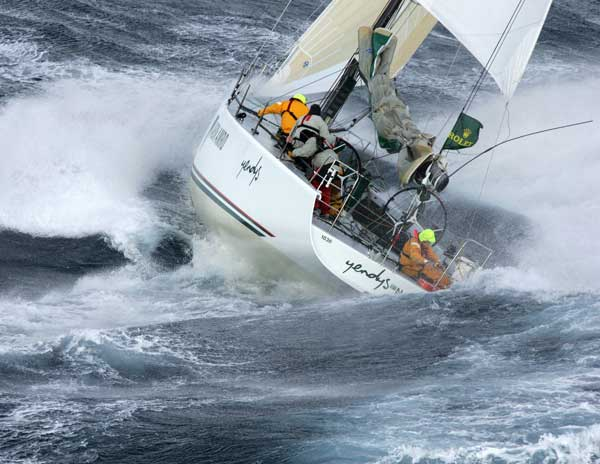 One of Daniel Forster's favourite shots of the Rolex Sydney Hobart - Credit ROLEX Daniel Forster