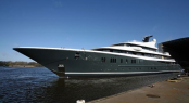 Phoenix 2 superyacht by Lurssen at her launch