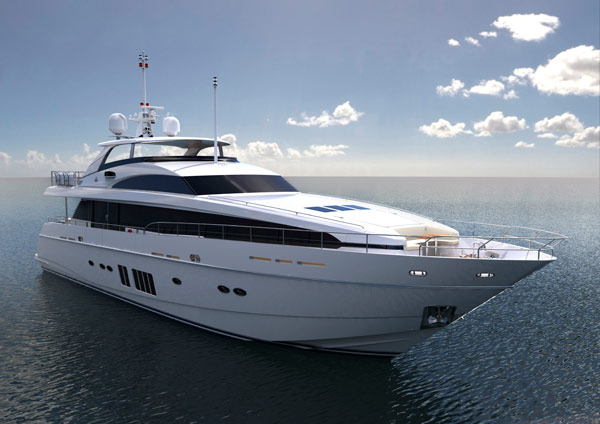 Princess Yachts' 32m M Class motor yacht breaks records at London ...