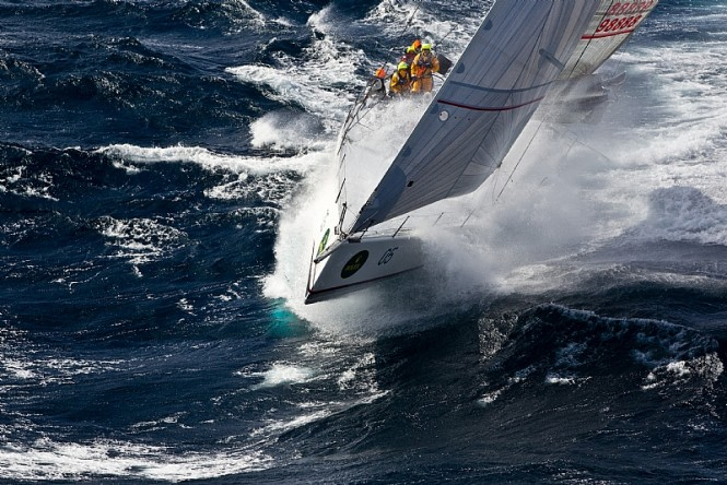 Sailing Yacht LIMIT - Alan Brierty - Photo credit Rolex  Carlo Borlenghi