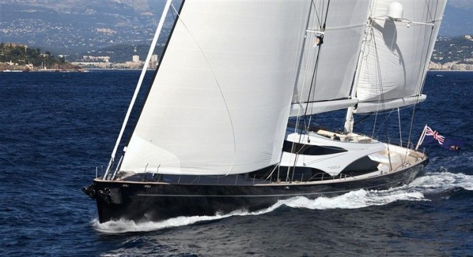 Sailing yacht Twizzle by Dubois Naval Architects, Royal Huisman Shipyard and Redman Whiteley Dixon