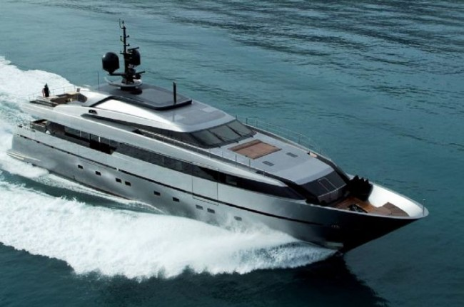 Sanlorenzo's 40 Alloy Series Superyacht. In the rest of the World Rodriguez ...