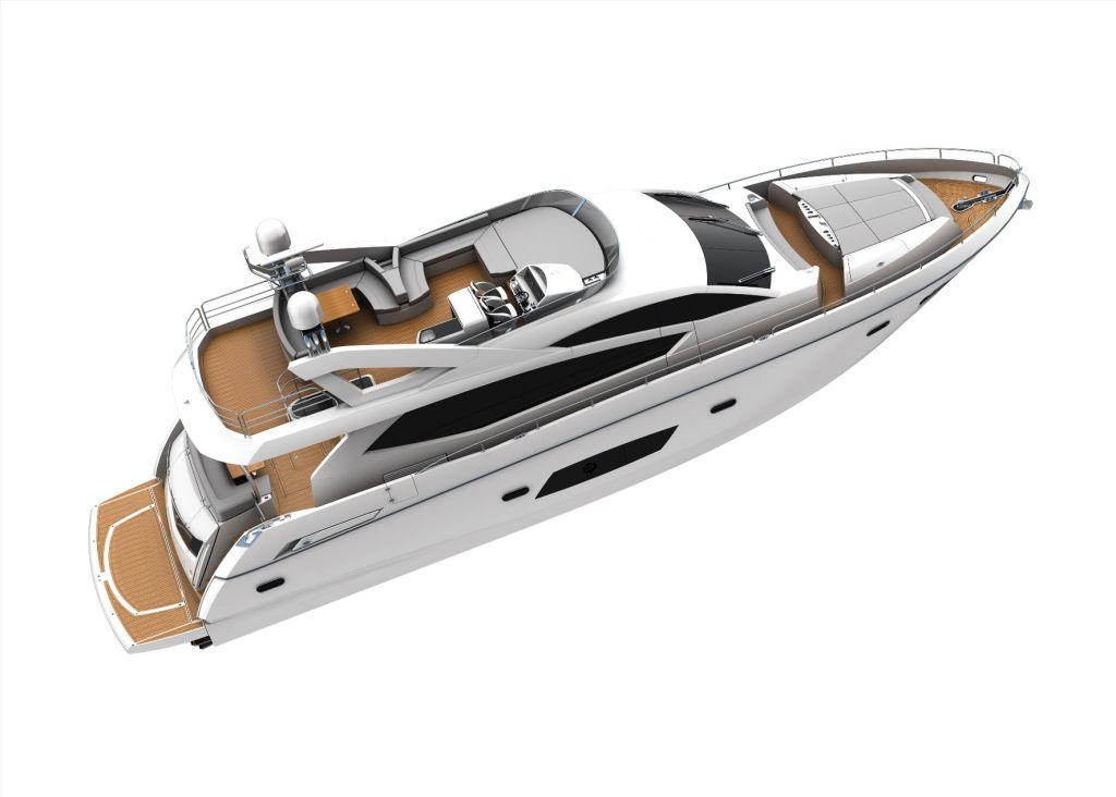 Sunseeker Manhattan 63 Yacht interior by Design Unlimited ...
