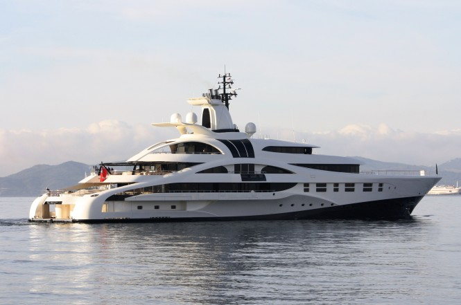Superyacht Palladium in Gibraltar – Photo Credit Giovanni Romero