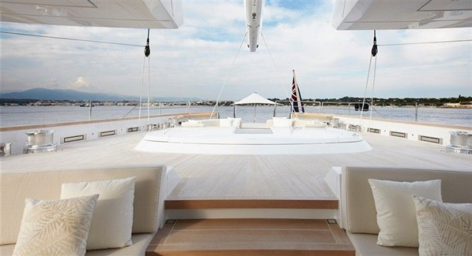 Superyacht Twizzle by Dubois Naval Architects, Royal Huisman Shipyard and Redman Whiteley Dixon