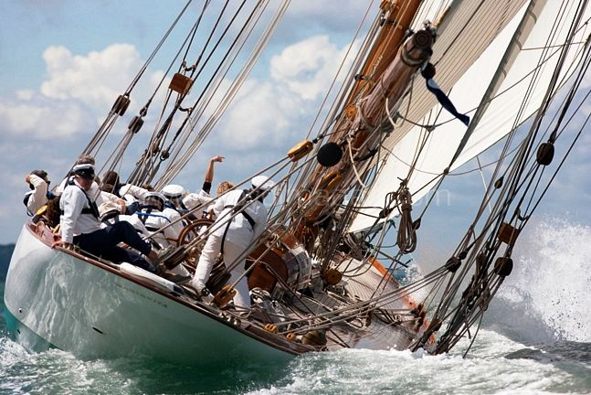 ... of the Club's annual Cowes regatta for classic yachts of all sizes.