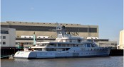 The 85m Lurssen motor yacht PACIFIC - photo as taken by the German yacht and ship photographer Martin Groothuis