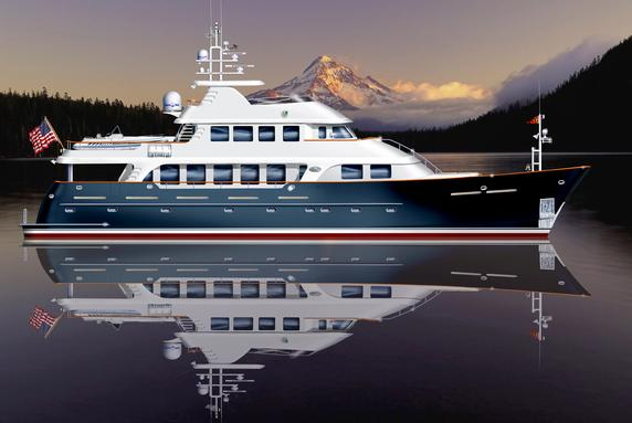 115ft Tri Deck motor yacht by Outer Reef Yachts