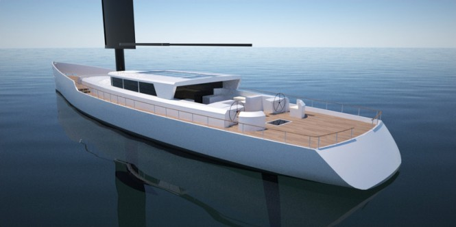 Sailing Yacht DY 40 by 2Pixel Studio Yacht Design
