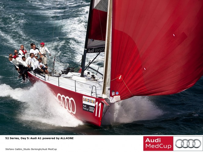 52 Series Day 5 Audi A1 powered by ALL4ONE  © Stefano Gattini Studio Borlenghi Audi MedCup