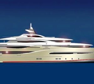 75.80-meter Project Fusion by The Megayacht Group
