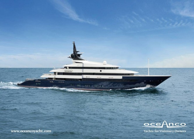 86m Motor Yacht SEVEN SEAS by Oceanco Nominated for Asia Boating Awards 2011