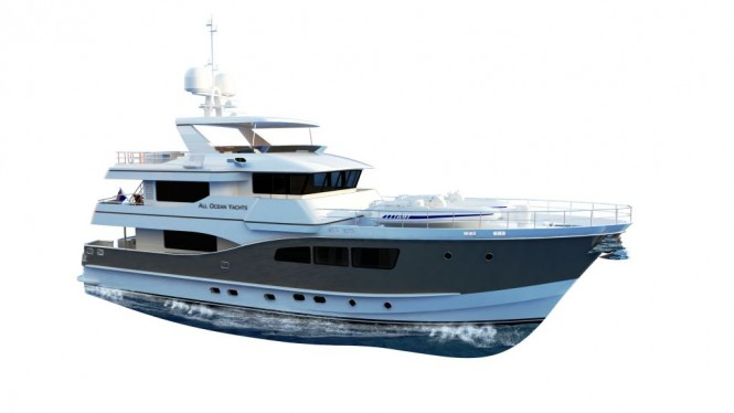 90ft Explorer Motor Yacht by All Ocean Yachts and Luiz de Basto designs