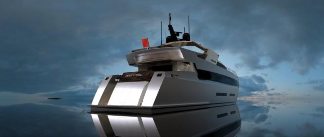 ANATOMIC 42m motor yacht by Tiranian Yachts