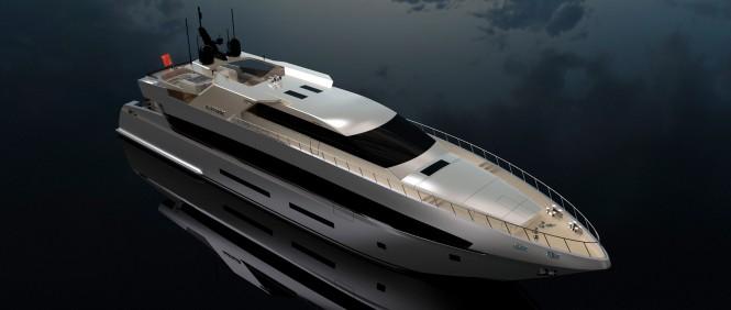 42m motor yacht ANATOMIC by Tiranian Yachts
