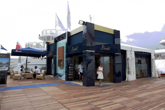 Benetti Shipyard at Miami International Boat Show 2011