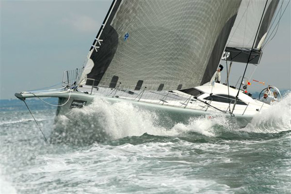 ICAP Leopard Supermaxi Race Yacht 
