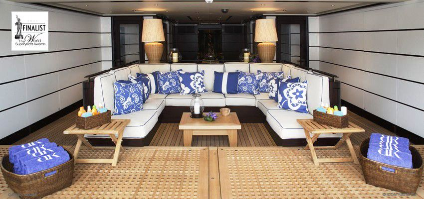 Icon Yachts Superyacht Baton Rouge Interior Detail Yacht Charter Superyacht News