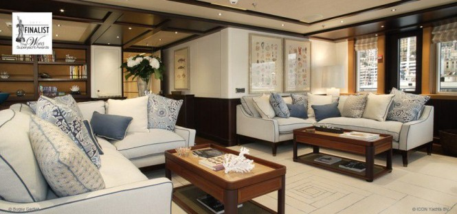 ICON Yachts Superyacht Baton Rouge - Interior Image by Supryacht Media