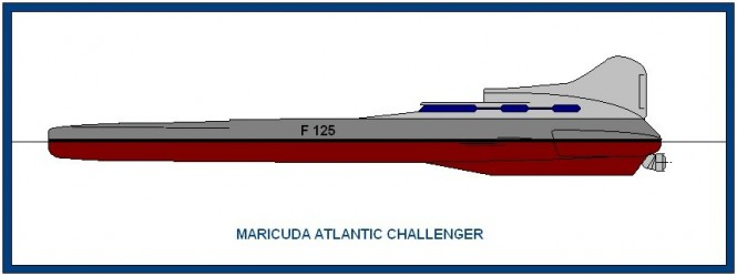 The Maricuda Challenger Trimaran
