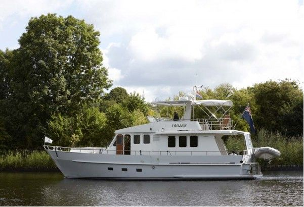 ... refit of the Moonen 52 Trojan motor yacht, originally launched in 1988.