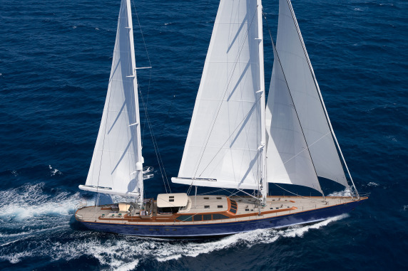 Pendennis Sailing yacht Christopher