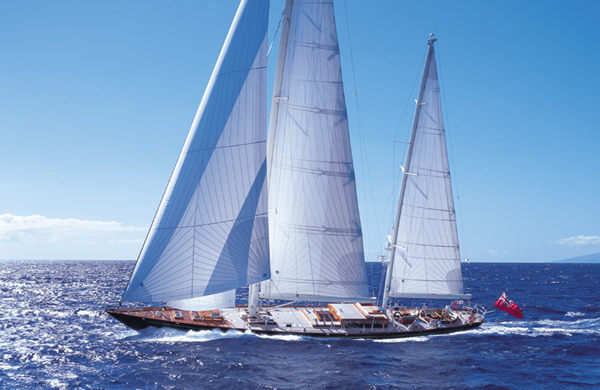 Sail Yacht HUCKLEBERRY ( ex Victoria of Strathearn) designed by Bill Langan