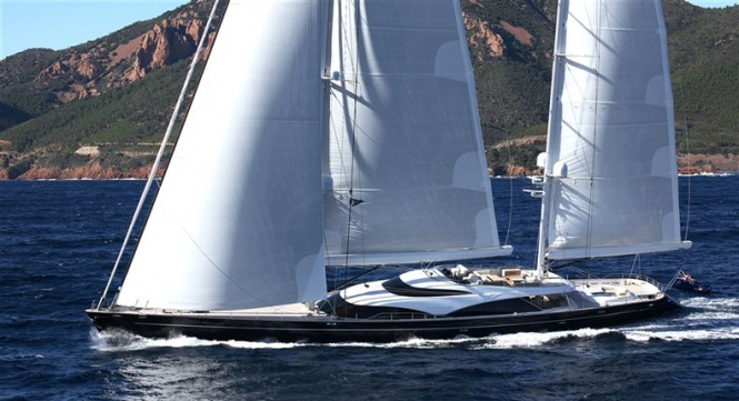Sailing Yacht TWIZZLE, finalist for the 2011 ShowBoats Design Awards
