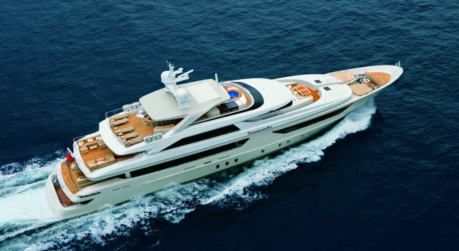 Sanlorenzo 46 Steel motor yacht. · From 4th placement in 2010 to 3rd in 2011