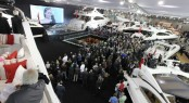 Sunseeker Predator 115 motor yacht and Manhatten 73 launched at London Boat Show