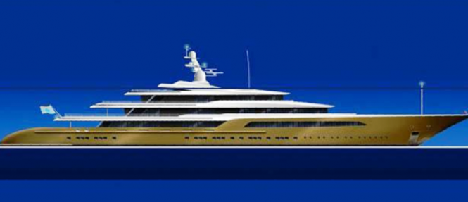 The Azure 105 Superyacht