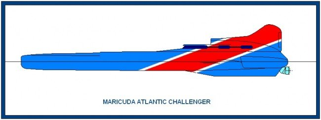 The Maricuda Atlantic Challenger Power Boat