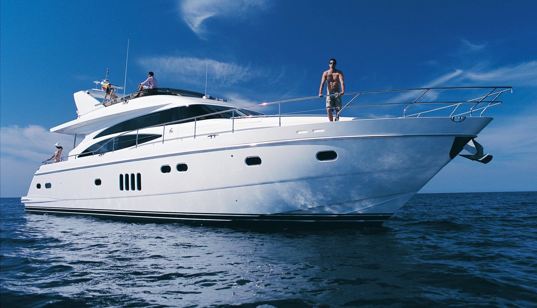 The Viking 70 Ft Motor Yacht Profile Yacht Charter