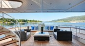 Yacht Calliope - Aft Deck View - Image Courtesy of Holland Jachtbuw - Images by Nicolas Claris