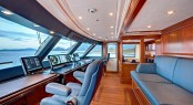 Yacht Calliope - Bridge - Image Courtesy of Holland Jachtbuw - Images by Nicolas Claris