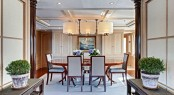 Yacht Calliope - Formal dining area - Image Courtesy of Holland Jachtbuw - Images by Nicolas Claris