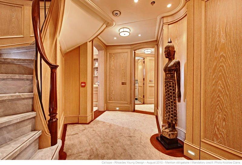 Foyer Luxury Yacht : Yacht calliope foyer image courtesy of holland