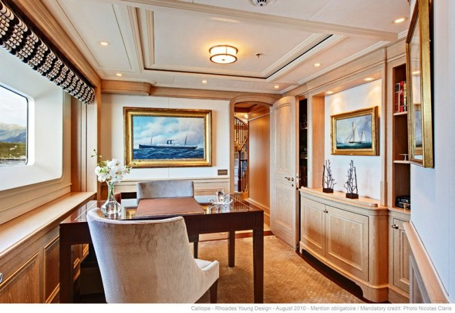 Yacht Calliope - Study - Image Courtesy of Holland Jachtbuw - Images by Nicolas Claris