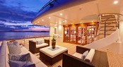 Yacht Calliope - The Aft Deck - Image Courtesy of Holland Jachtbuw - Images by Nicolas Claris