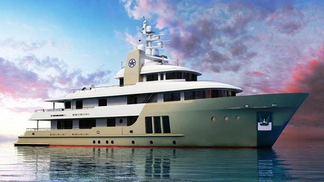 Expedition Motor Yacht E & E (ex Jasmin II) to be launched by Cizgi Yachts